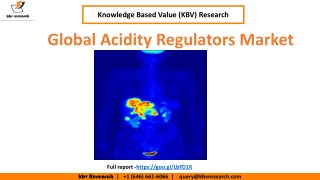 Global Acidity Regulators Market