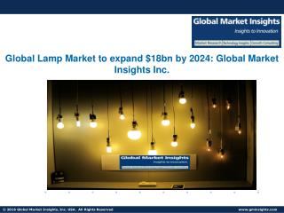 Lamp Market forecast to hit $18bn by 2024