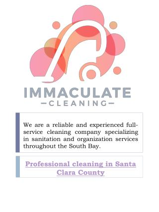Move out cleaning Santa Clara County, CA