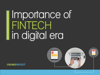 Importance of fintech in digital era