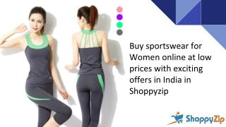 Buy womens gym clothes online at lowest price in india