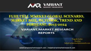 Fuel Cell Market Global Scenario, Market Size, Outlook, Trend And Forecast, 2015-2024