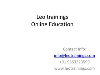 manual testing online training in hyderabad,usa