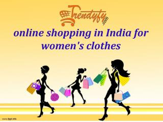 buy women clothing  on Trendyfy.com with lowest price.