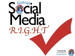 Getting Social Media RIGHT - #NSBAConf
