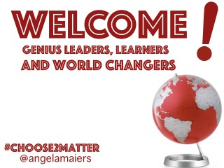 YOU are a World Changer