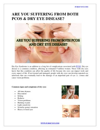 ARE YOU SUFFERING FROM BOTH PCOS and Diabetes