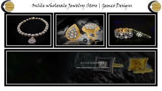 Indian Diamond Jewellery Online on Gemco Designs