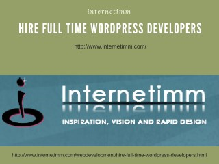 Hire Full Time Wordpress Developers