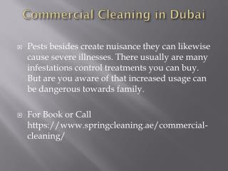 commercial cleaning in dubai