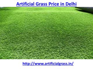 What is the best artificial grass price in Delhi