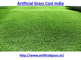 Which is the best artificial grass cost India
