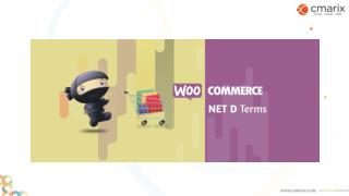 WooCommerce Customization for Net D Terms