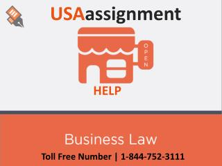 Business Law Help | Toll Free:1-844-752-3111