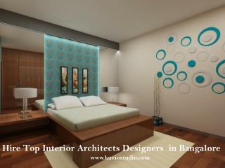 Hire Top Interior Architects Designers in Bangalore