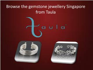 The latest design of Gemstone Singapore ring