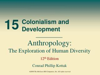 Colonialism and Development