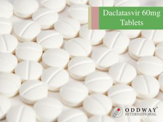 Daclatasvir 60mg Tablets | Hepatitis Drugs Wholesaler | Generic Alternative Brands Of Indian Generic Daclatasvir 60mg Ta