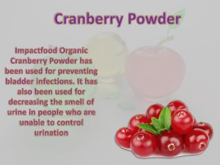 Organic Aronia Berry Powder is Good for Health