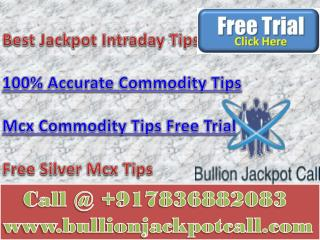 Mcx Commodity Tips Free Trial - 100% Accurate Commodity Tips with huge Earning