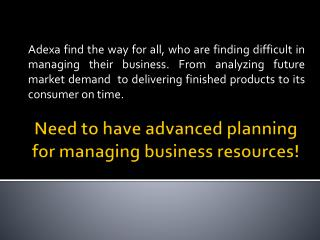 Big brands already using Most Comprehensive Planning Solutions