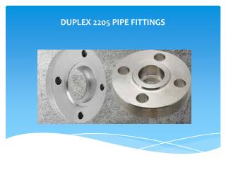 Duplex 2205 Pipe Fittings