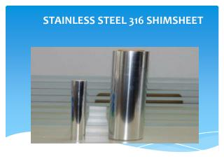stainless steel 316 shims manufacturer