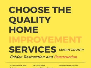 Home improvement  services  Marin County  CA
