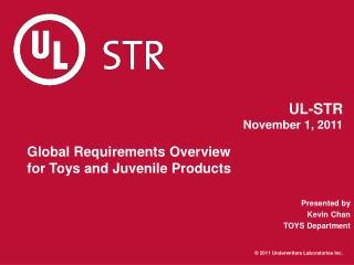 UL-STR November 1, 2011