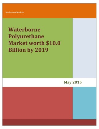 waterborne polyurethane market