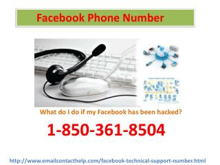 How to rock Facebook Phone Number : 1-850-361-8504  that will save the tons of time?