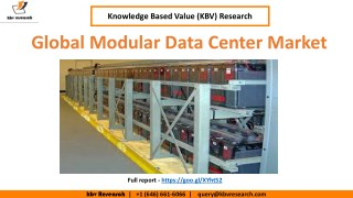 Global Modular Data Center Market Share