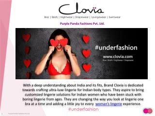 Clovia - Choosing the Ideal Bridal Lingerie