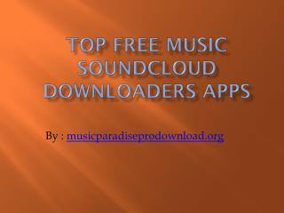 PPT - SoundCloud Music App PowerPoint Presentation - ID:1854952