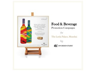 Restaurant Marketing | Food and Beverage Promotion - OH! Design Studio