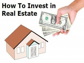 How to Invest In Real Estate With No Money!