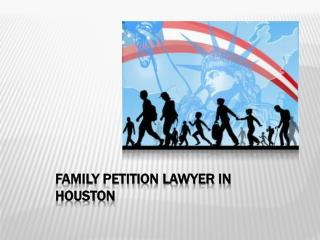 Family Petition Lawyer in Houston