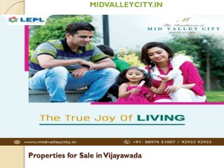 Properties for sale in vijayawada at mid valley city