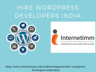Hire Wordpress Developers India