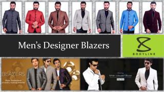 Mens Designer Blazers