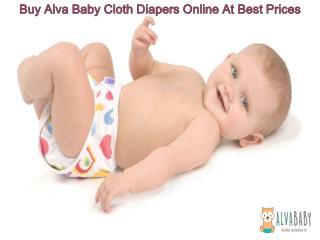 Buy Alva Baby Cloth Diapers Online At Best Prices