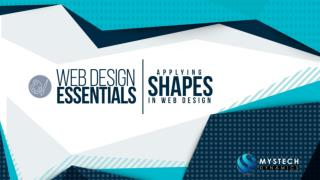 Applying Shapes in Web Design