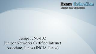 JN0-102 VCE - Ultimate Source of VCE Examcollection