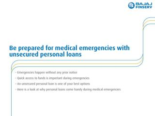 Finance Your Medical Expenses With Personal Loan