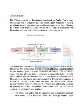iPhone Training in Noida - Croma Campus