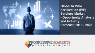 In Vitro Fertilization Services Market to Grow at a CAGR of 10.3% during 2017–2025