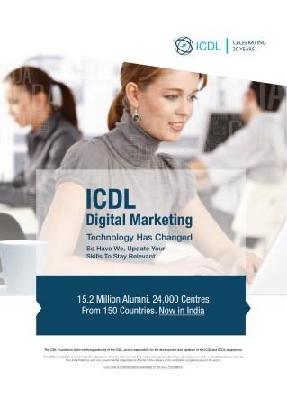 Why ICDL Digital Marketing Syllabus? AcademySID
