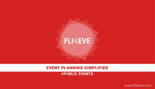 Public Event Planning Vendors and Services