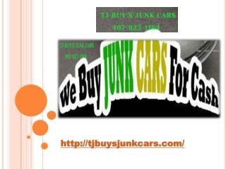 TJ Buys junk cars