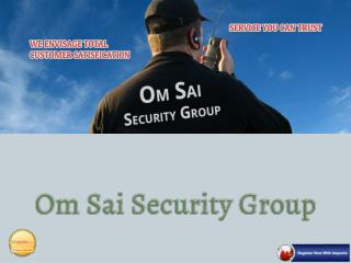 Lady Security Guard Services - Om Sai Security Services